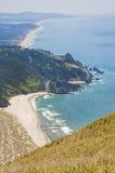 Bello punto di vista di vista che trascura la costa e l'oceano Pacifico dell'Oregon Immagini Stock