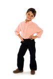 Bello ragazzino Fotografie Stock Libere da Diritti