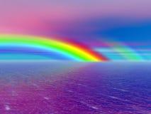 Bello Rainbow Fotografia Stock Libera da Diritti