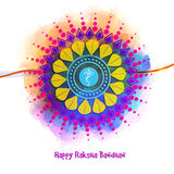 Bello rakhi per la celebrazione di Raksha Bandhan Fotografie Stock Libere da Diritti