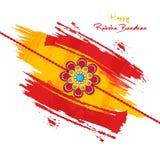 Bello rakhi per la celebrazione di Raksha Bandhan royalty illustrazione gratis