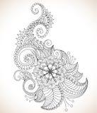 Bello reticolo floreale Immagini Stock Libere da Diritti