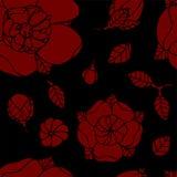 Bello reticolo floreale Fotografia Stock Libera da Diritti