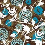 Bello reticolo seampless floreale Immagini Stock