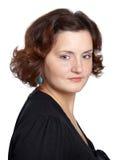 Bello ritratto della giovane donna Immagine Stock Libera da Diritti
