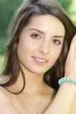 Bello ritratto della ragazza Fotografie Stock Libere da Diritti