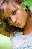 Bello ritratto della ragazza Fotografia Stock