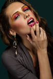 Bello ritratto di una ragazza Fotografie Stock Libere da Diritti