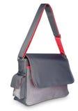 Bello sacchetto grigio-rosso del computer portatile   Immagine Stock Libera da Diritti