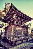 Bello santuario tradizionale a Tokyo, Giappone Immagine Stock Libera da Diritti