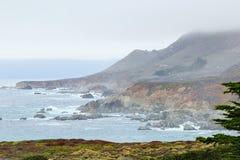 Bello scenico da Big Sur Fotografie Stock