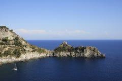 Bello seaview in Italia Immagine Stock Libera da Diritti