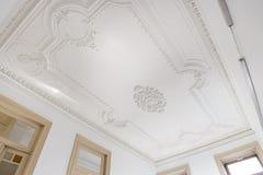 Bello soffitto ornato fotografie stock