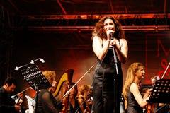 Bello soprano Immagine Stock