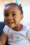 Bello sorridere del bambino dell'afroamericano Fotografia Stock
