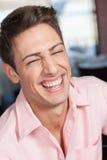 Bello sorridere dell'uomo immagini stock