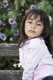 Bello sorridere della bambina Fotografia Stock