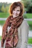 Bello sorridere della donna Fotografia Stock Libera da Diritti