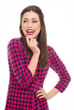 Bello sorridere della donna fotografie stock libere da diritti