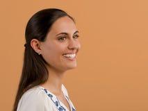Bello sorridere della donna immagine stock libera da diritti