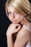 Bello sorridere della ragazza del paese Fotografie Stock