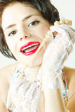 Bello sorriso Fotografie Stock