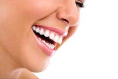 Bello sorriso della donna fotografie stock libere da diritti
