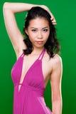 Bello sorriso della donna asiatica fotografia stock libera da diritti