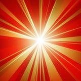 Bello starburst Immagini Stock
