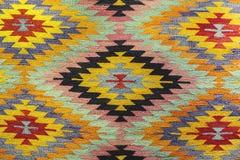 Bello tappeto di oriente sul grande bazar fotografia stock libera da diritti