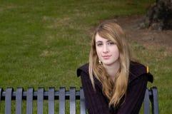 Bello teenager Fotografia Stock Libera da Diritti