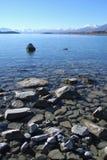 Bello tekapo del lago all'isola del sud, Nuova Zelanda Immagini Stock