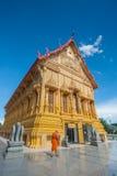 Bello tempiale dorato tailandese thailand fotografia stock