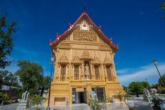 Bello tempiale dorato tailandese thailand immagine stock