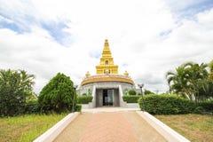 Bello tempio alla provincia di Nong Bua Lamphu, Tailandia Fotografia Stock Libera da Diritti