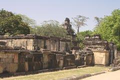 Bello tempio antico di hinduist Immagine Stock