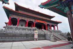 Bello tempio cinese in Tailandia Immagine Stock