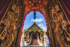 Bello tempio della Tailandia Fotografie Stock Libere da Diritti