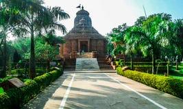 Bello tempio di Sun a Gwalior, Madhya Pradesh, India fotografie stock