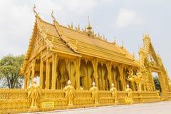 Bello tempio dorato immagini stock