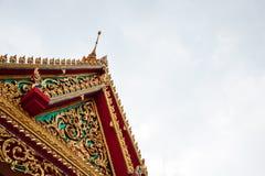 Bello tempio tailandese in Songkhla Fotografie Stock Libere da Diritti