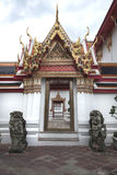 Bello tempio tailandese, tempio a Bangkok, Tailandia Immagine Stock Libera da Diritti
