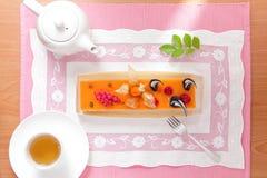 Bello tempo del tè di pomeriggio immagine stock