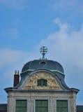 Bello tetto ornato fotografia stock libera da diritti