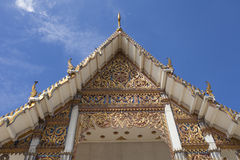 Bello tetto tailandese del tempio Fotografia Stock Libera da Diritti