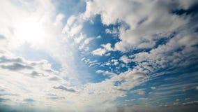 Bello timelapse della nuvola di giorno di estate stock footage