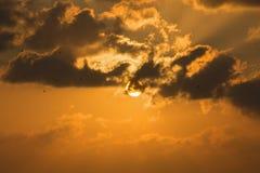 Bello tramonto Immagini Stock Libere da Diritti