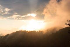 Bello tramonto Immagine Stock Libera da Diritti