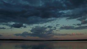 Bello tramonto, al rallentatore archivi video