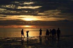 Bello tramonto, Florida Immagine Stock Libera da Diritti